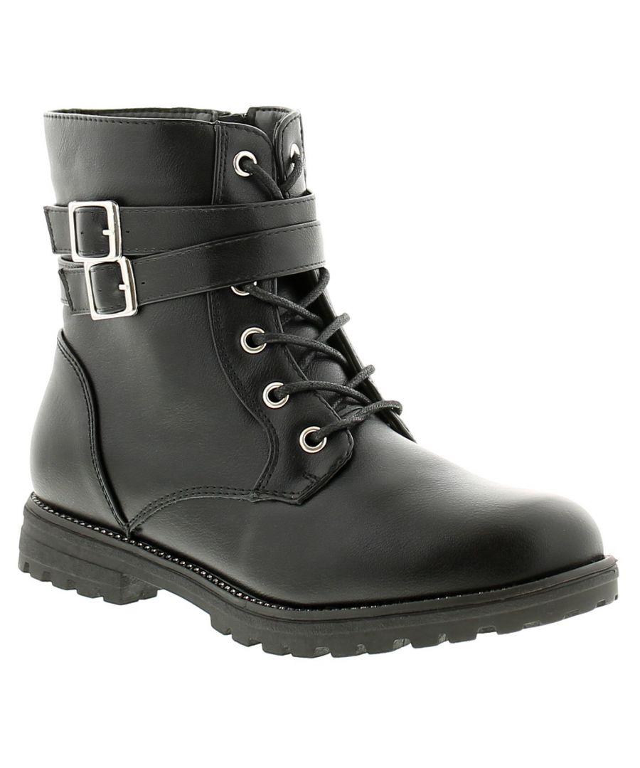 Image for Miss Riot maddie girls kids ankle boots black