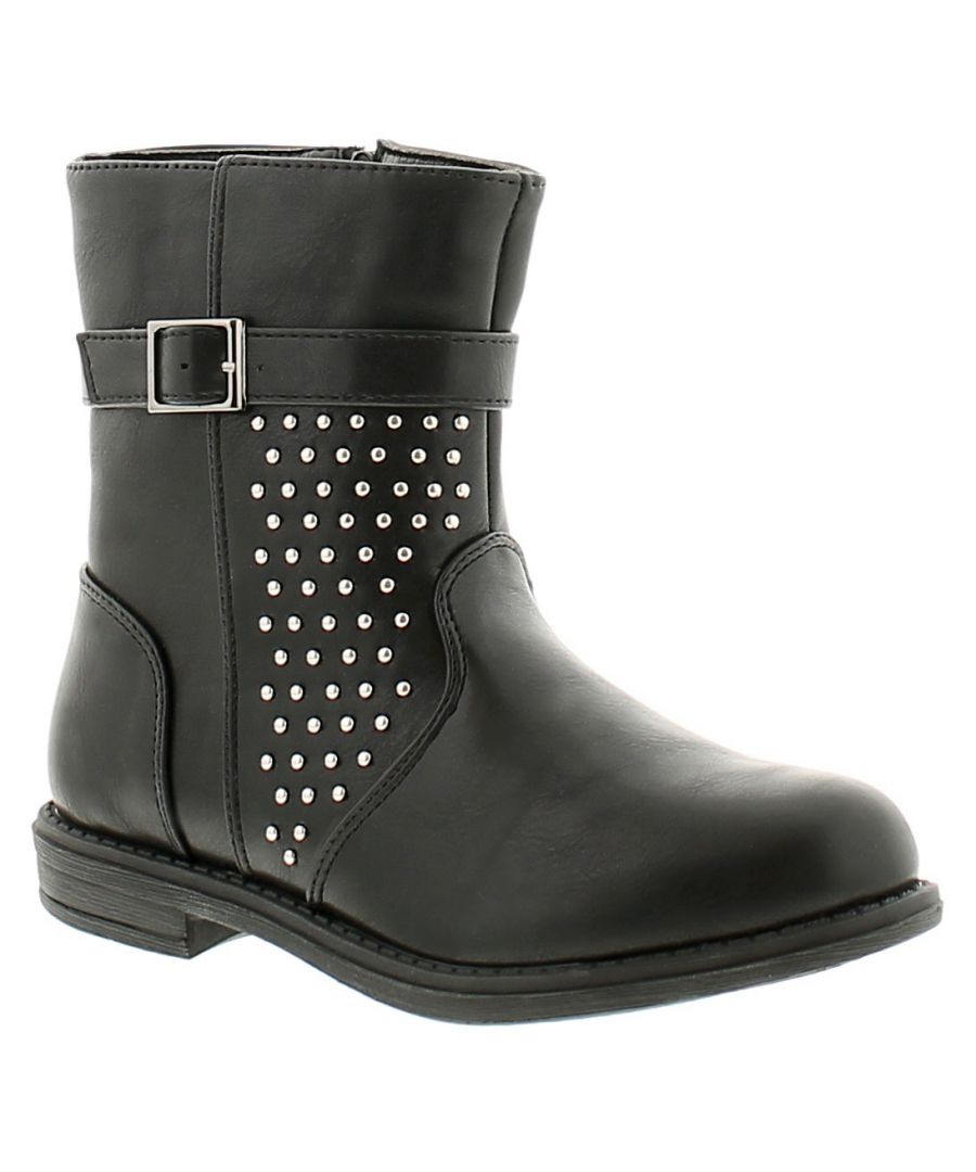 Image for Chatterbox bali girls kids ankle boots black