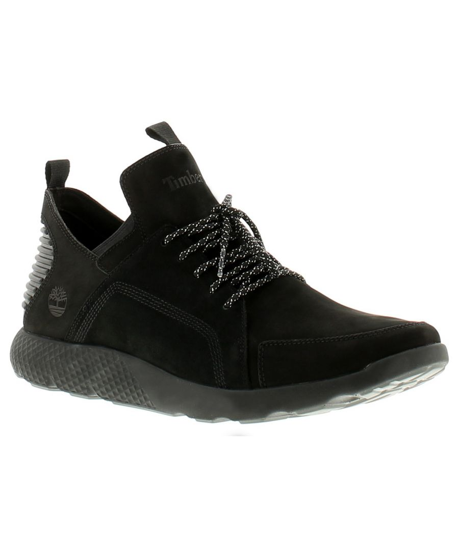 Image for Timberland tmbl flyroam go oxfo mens trainers black