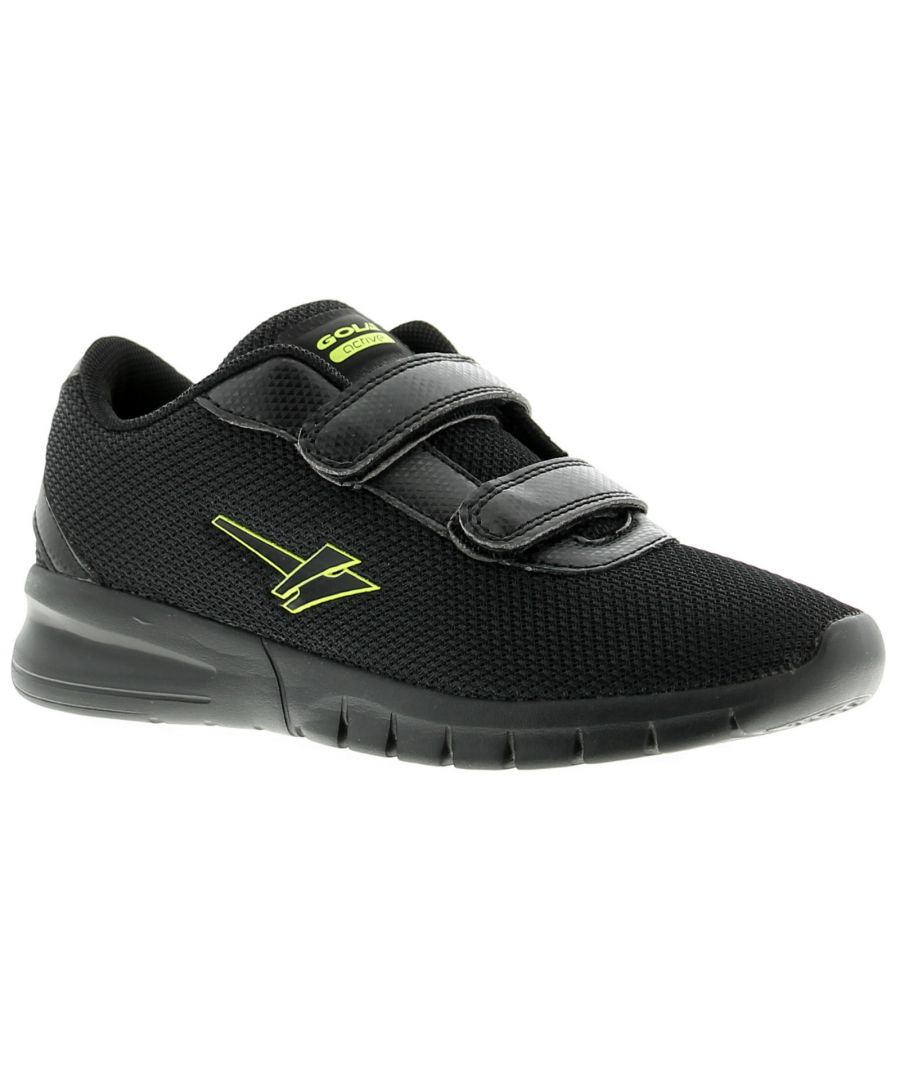 Image for Gola beta 2 touch fastening Younger Boys Trainers black UK 7-1
