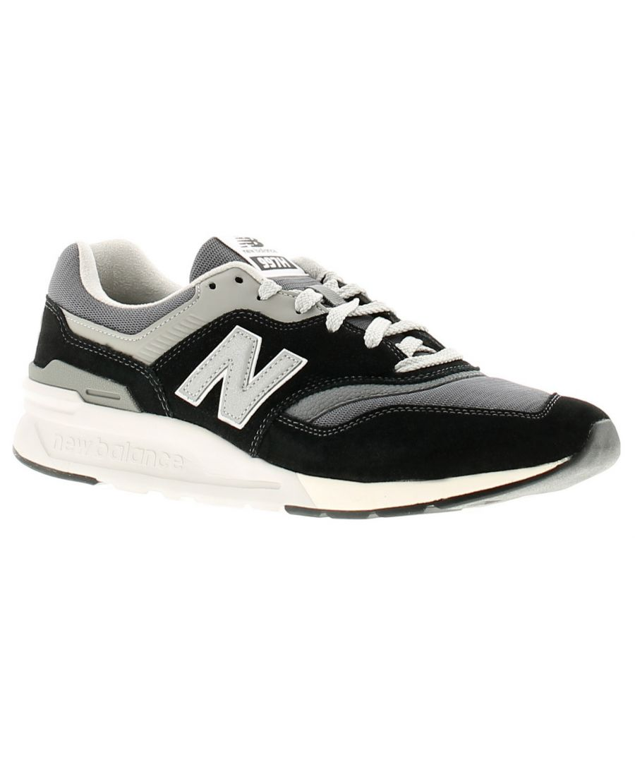 Image for New Balance 997 mens trainers black