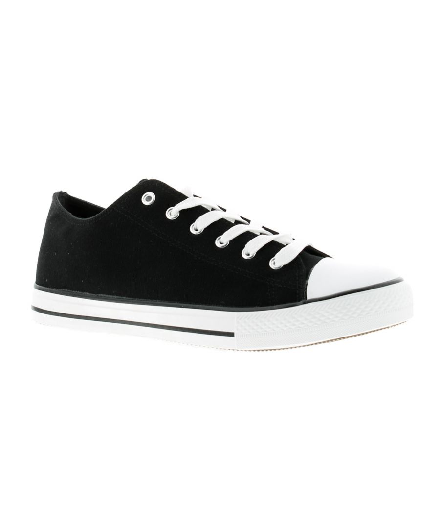 Image for Rockstorm connor Mens Canvas Shoes black