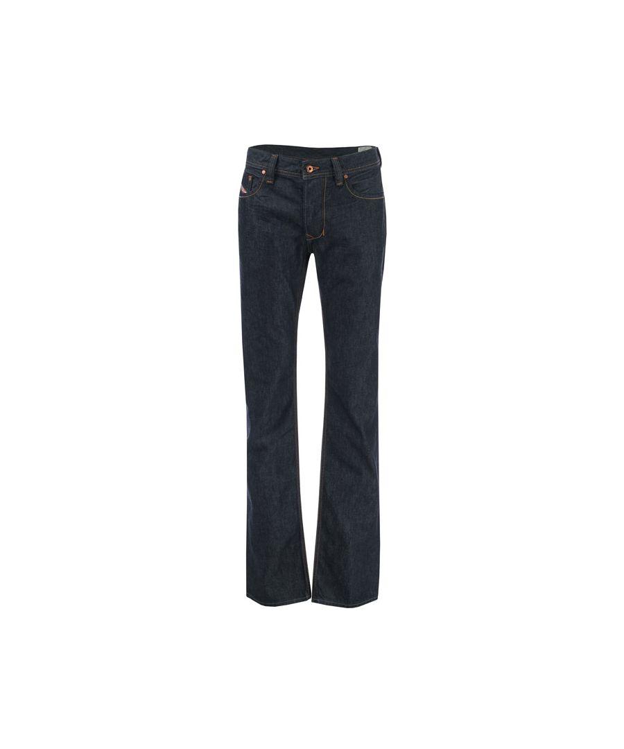 Image for Men's Diesel Larkee Straight Leg Jeans in Denim