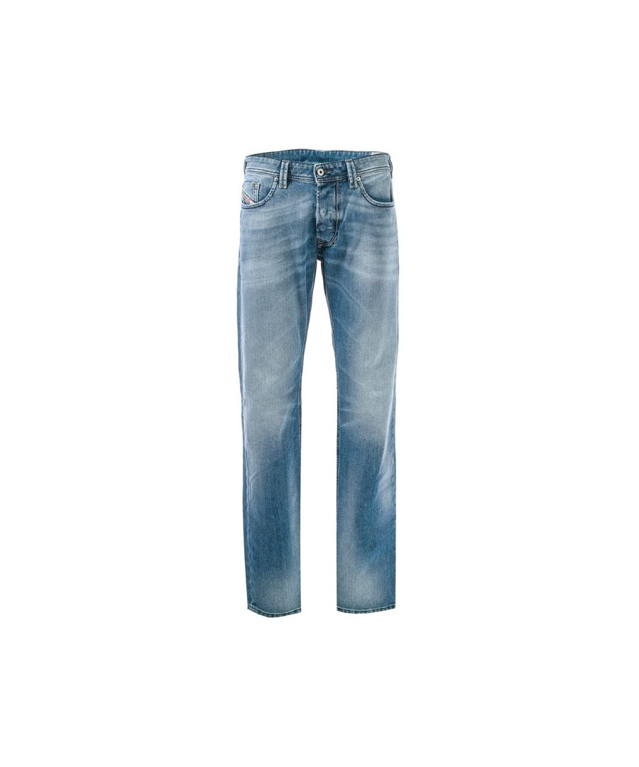 Image for Men's Diesel Larkee Straight Leg Jeans in Denim