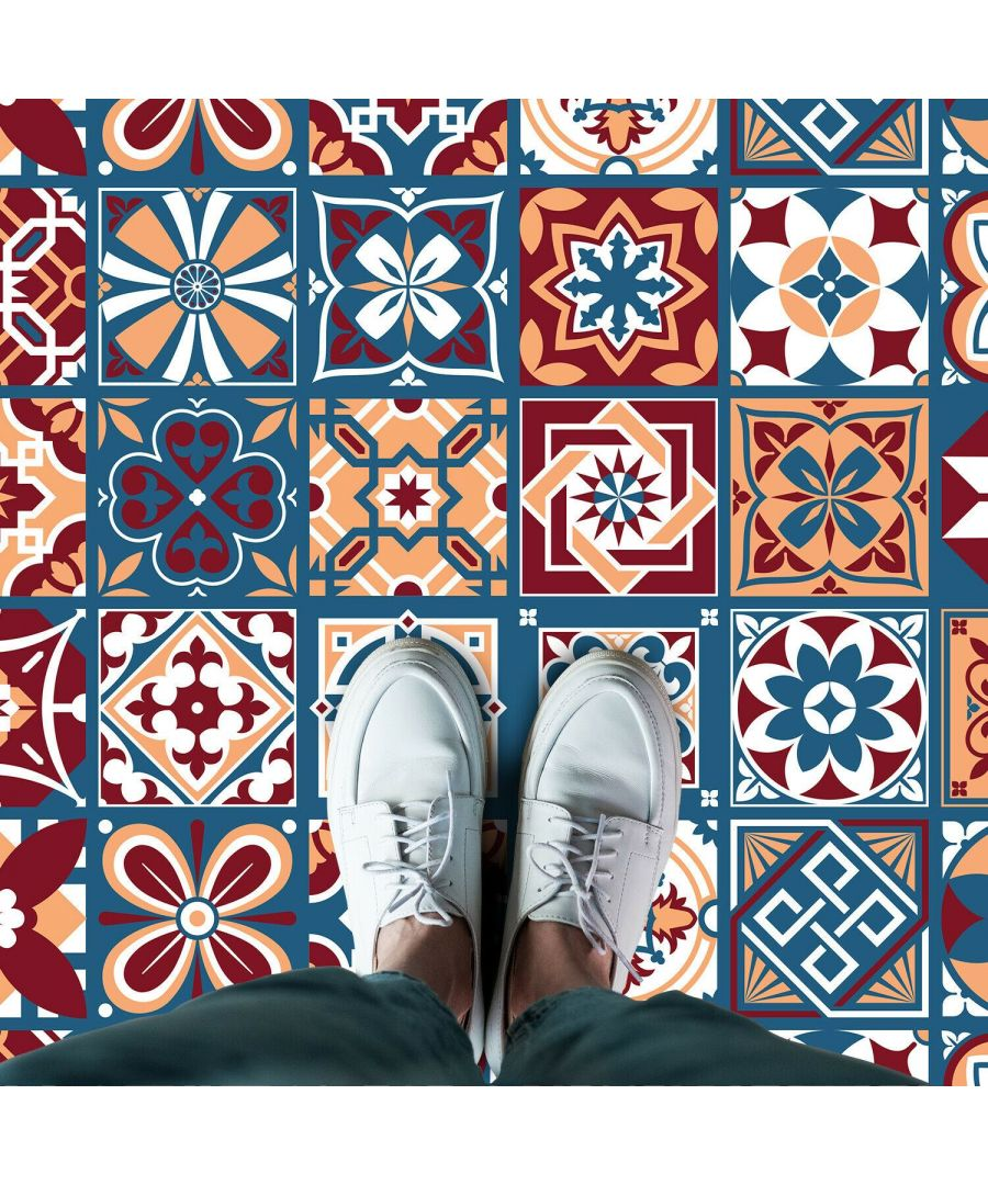 Image for WFS6005 - Westminster Tiles Floor Sticker 120cm x 60 cm