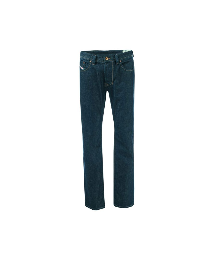 Image for Men's Diesel Larkee Relaxed Regular Straight Jeans in Denim