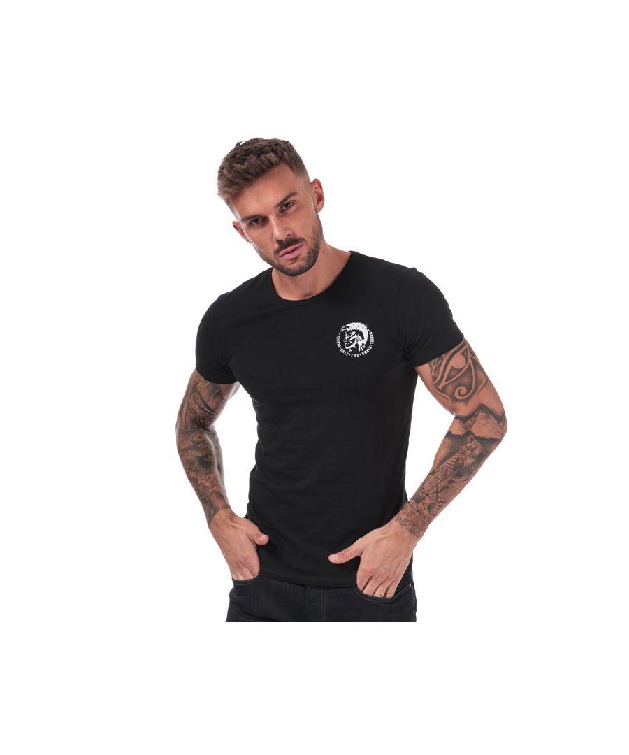 Image for Men's Diesel UMTEE-Randal T-Shirt in Black