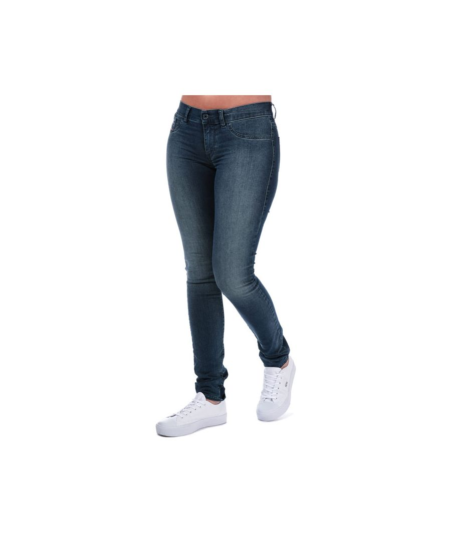 Image for Women's Diesel Livier Super Slim Jegging Jeans in Denim