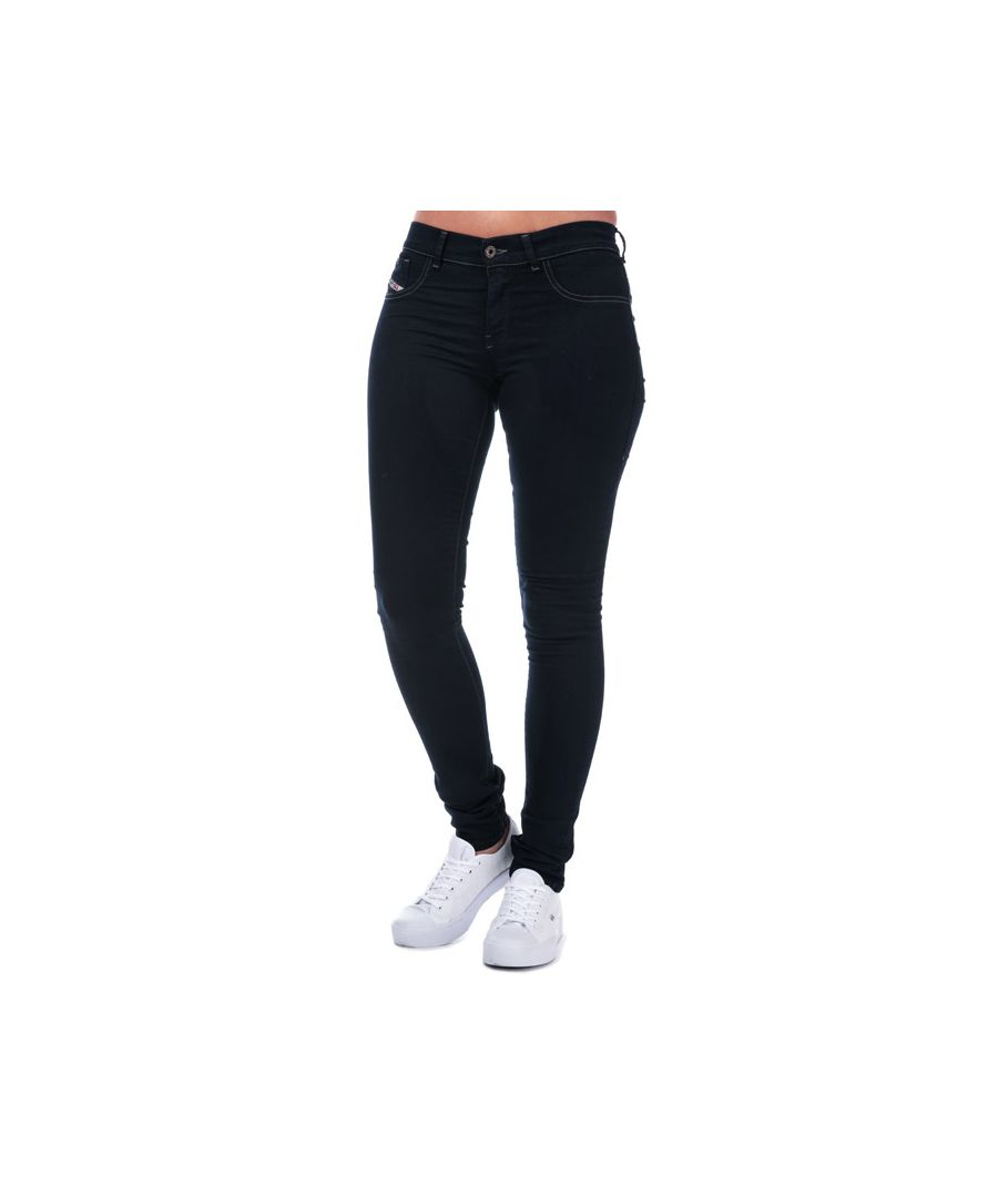 Image for Women's Diesel Livier Super Slim Jegging Jeans in Indigo