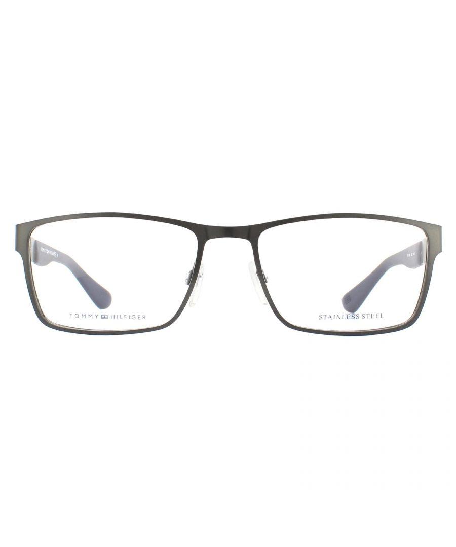Image for Tommy Hilfiger Glasses Frames TH 1543 R80 Matte Dark Ruthenium