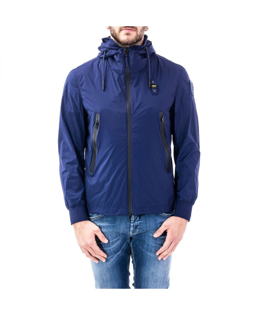 Image for BLAUER MEN'S 20SBLUC04046005250868 BLUE POLYAMIDE OUTERWEAR JACKET