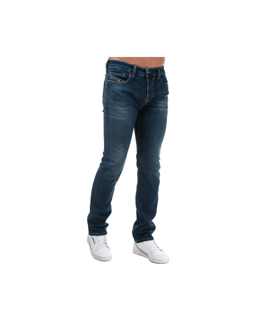 Image for Men's Diesel Safado-X Straight Leg Jeans in Blue