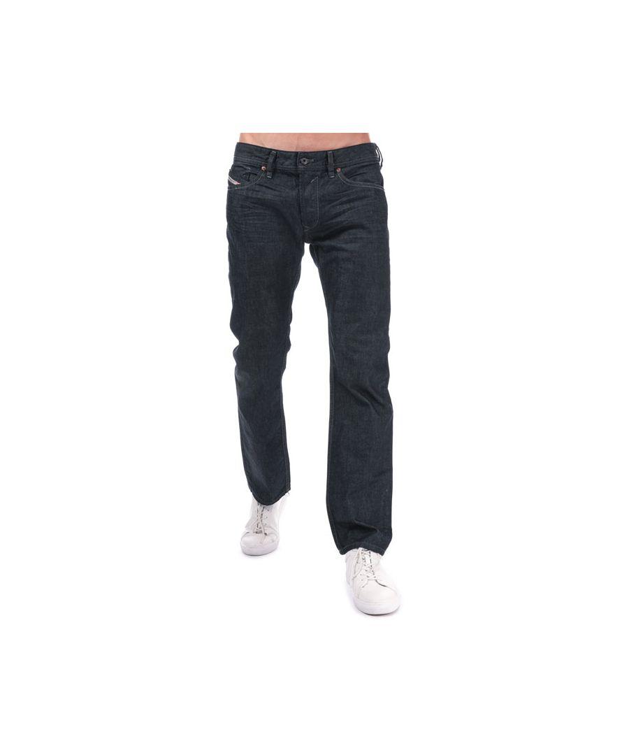 Image for Men's Diesel Waykee Straight Leg Jeans in Indigo