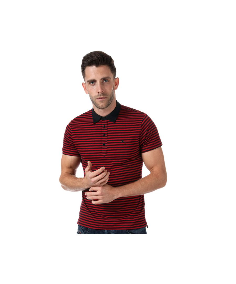Image for Men's Diesel T-Fuel Polo Shirt in Red