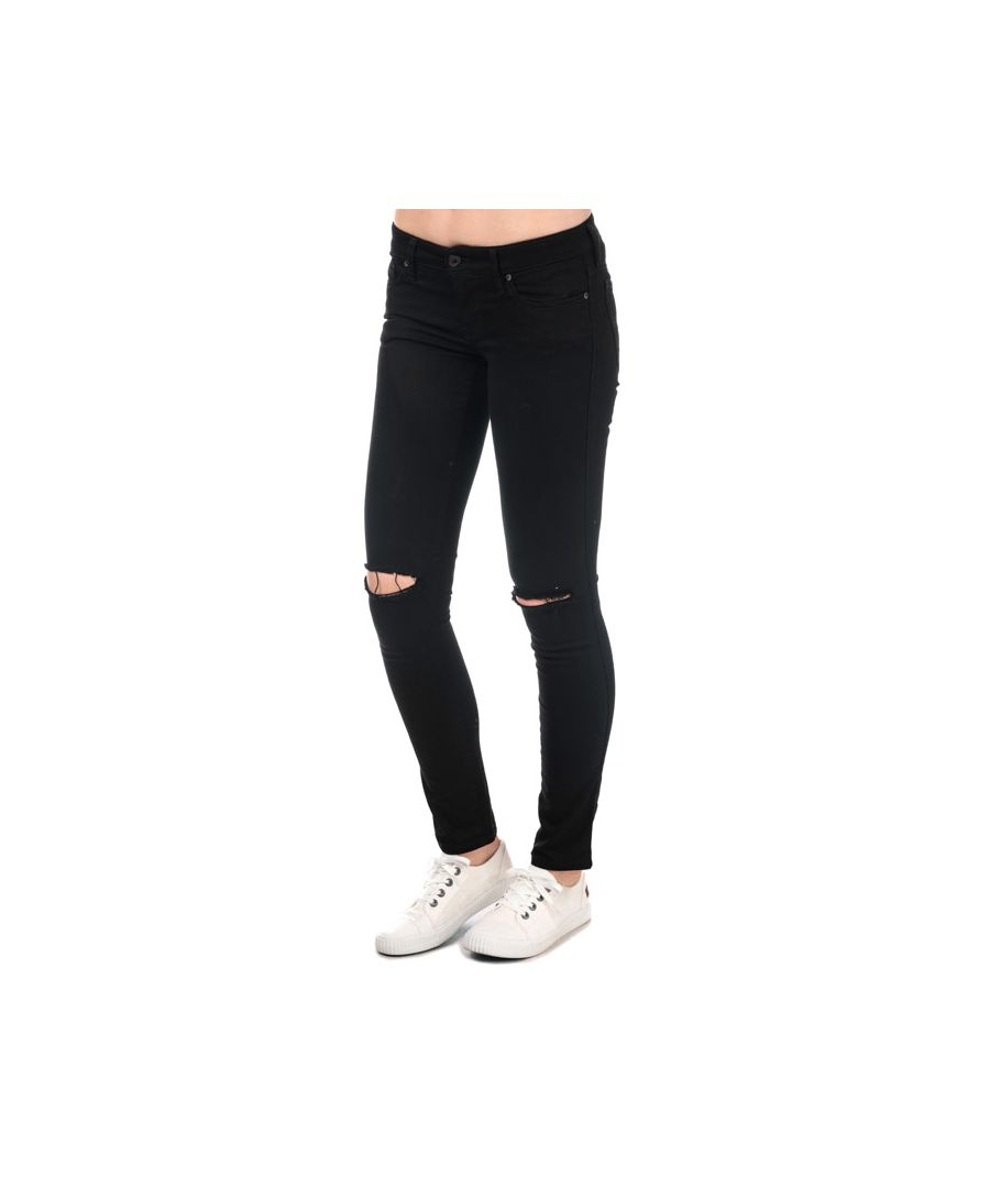 Image for Women's Diesel Skinzee Low Waist Skinny Jeans in Black