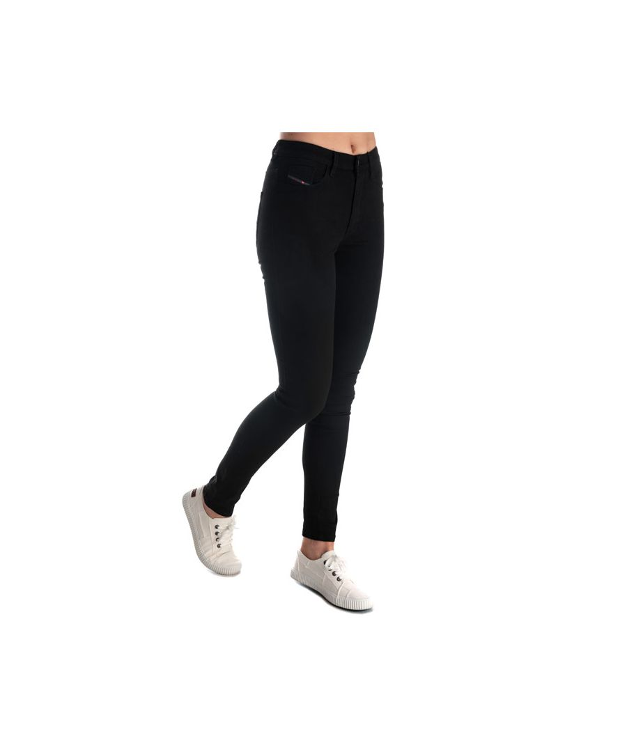 Image for Women's Diesel Skinzee High Waist Skinny Jeans in Black
