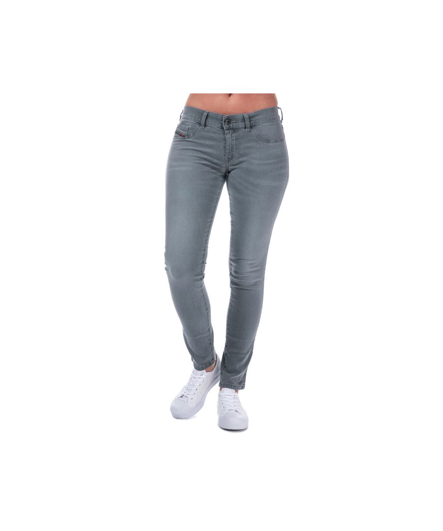 Image for Women's Diesel Livier Skinny Jeans in Grey