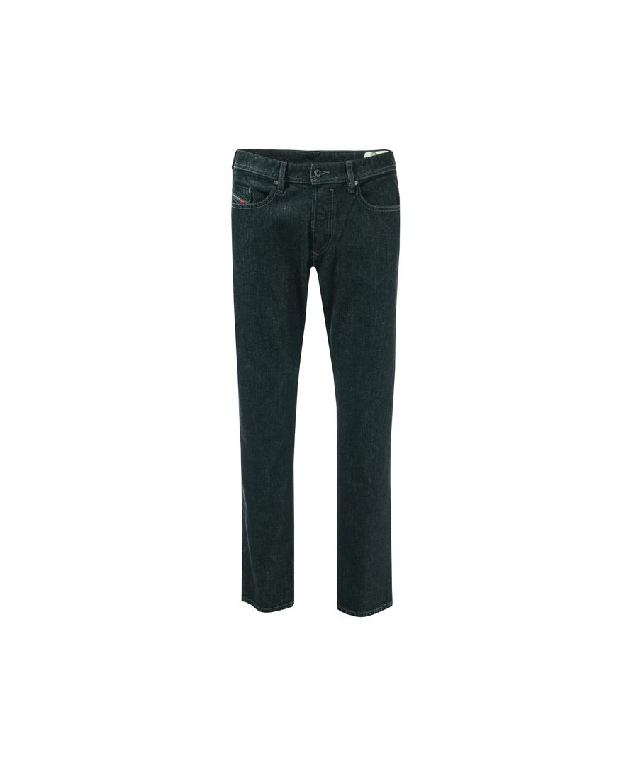 Image for Men's Diesel Buster Slim Tapered Jeans in Black