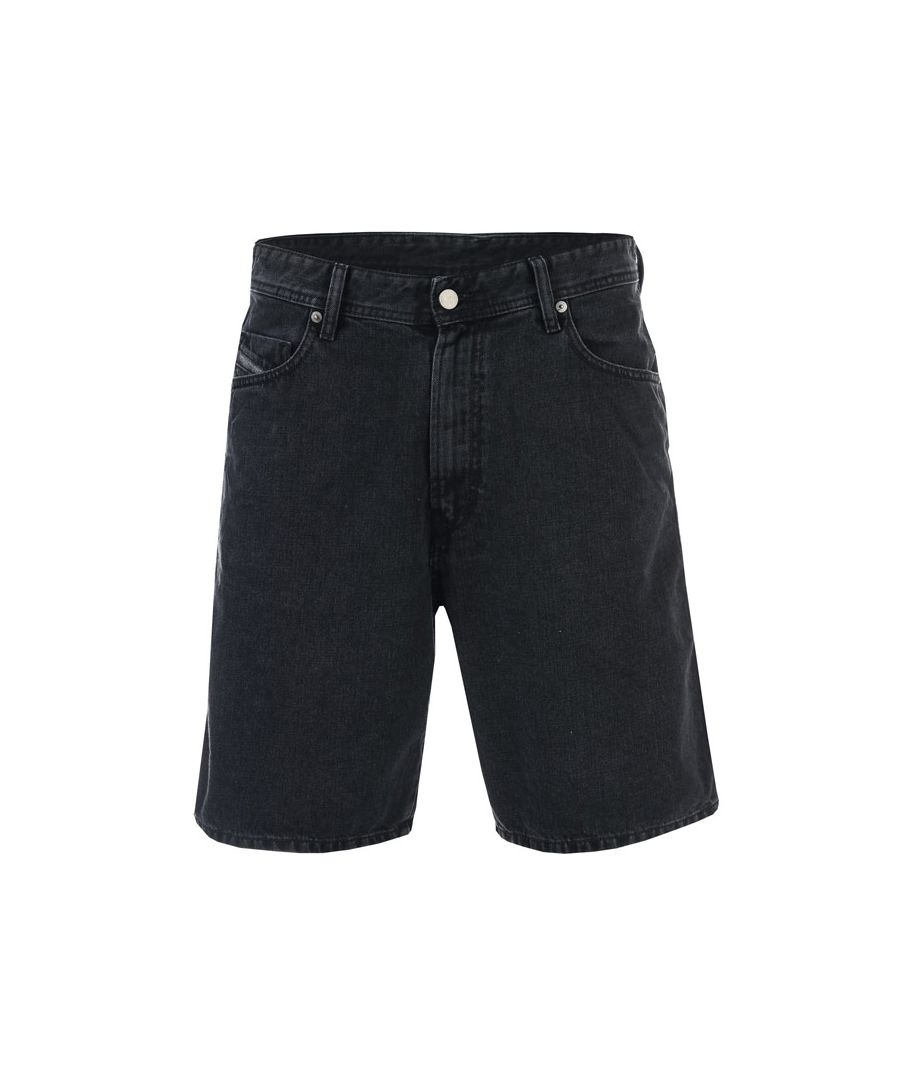 Image for Men's Diesel D-Willoh Shorts in Black