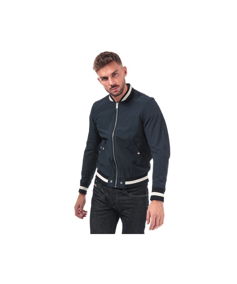 Image for Men's Diesel R-Radical Jacket in Navy