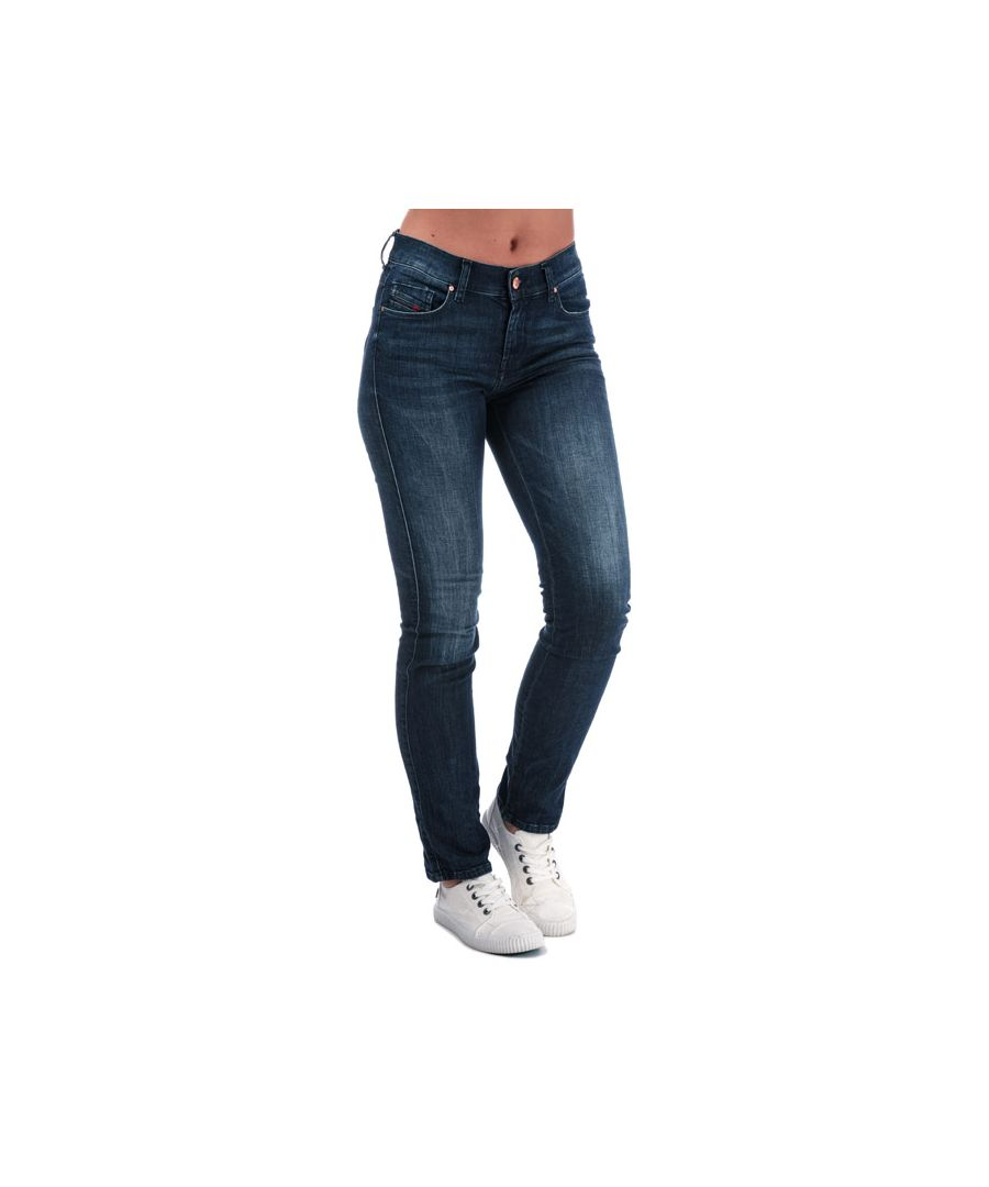 Image for Women's Diesel Sandy Straight Jeans in Denim