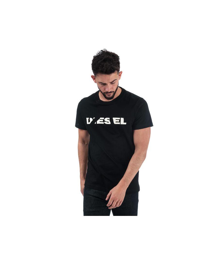 Image for Men's Diesel T-Diego-Brok T-Shirt in Black