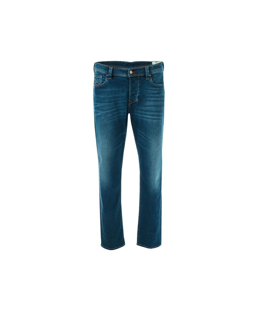 Image for Men's Diesel Larkee-Beex Regular Tapered Jeans in Denim