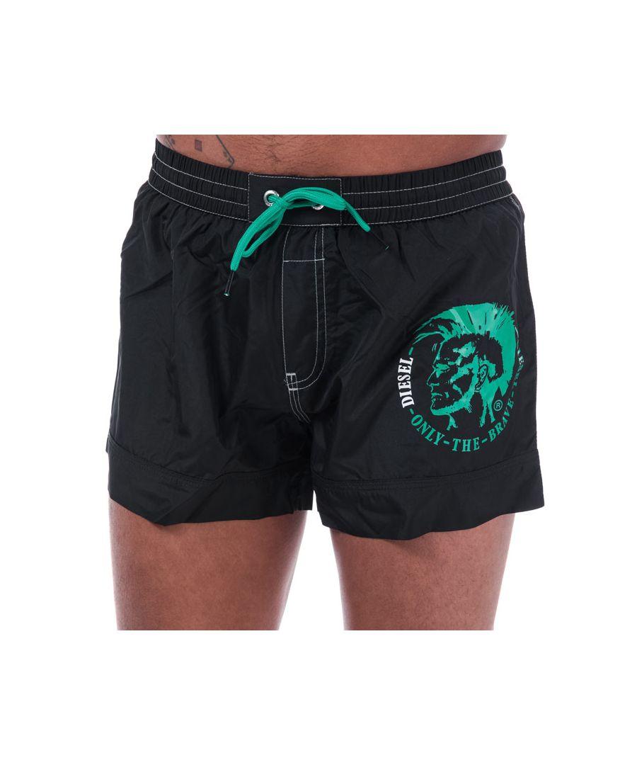 Image for Men's Diesel BMBX 2.017 Swim Shorts in Black