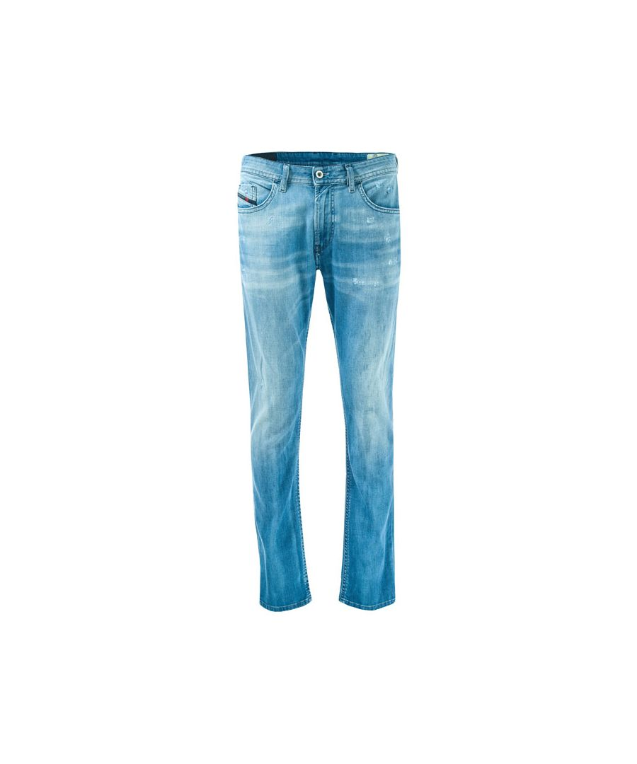 Image for Men's Diesel Thommer Slim Fit Jeans in Denim
