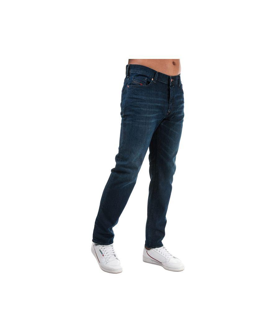 Image for Men's Diesel Thytan Straight Fit Jeans in Denim