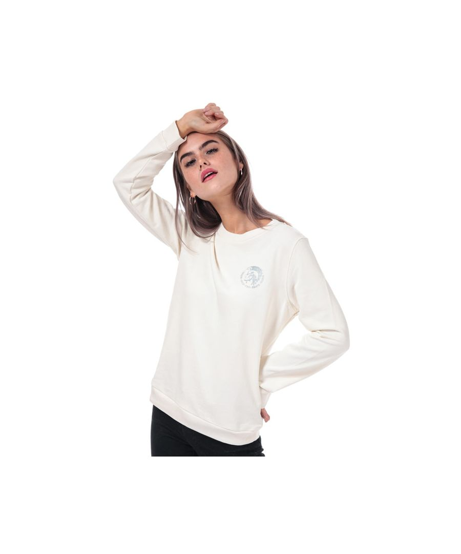 Image for Women's Diesel Willa Crew Sweatshirt in Natural