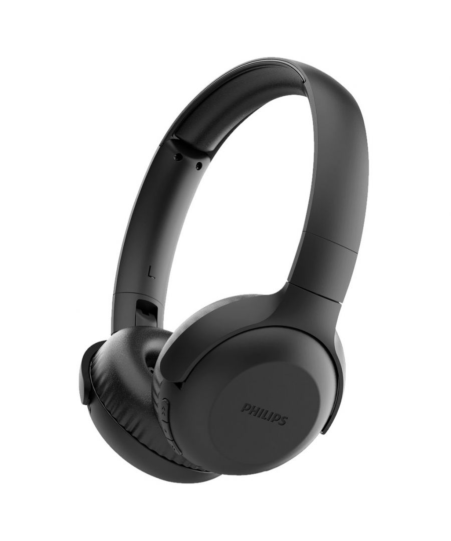 Image for Philips Tauh202 Bluetooth Headphone With Micro Black