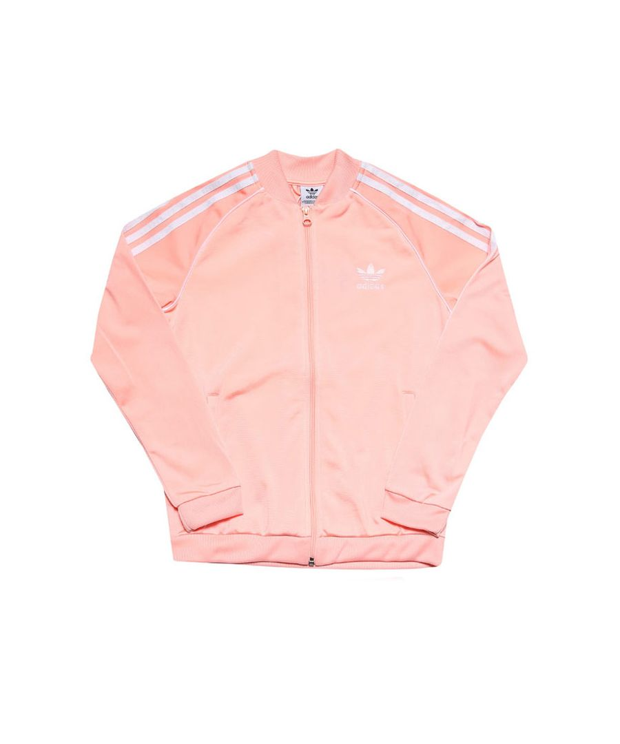 Image for Girls' adidas Originals Infant SST Track Top Coral 5-6in Coral