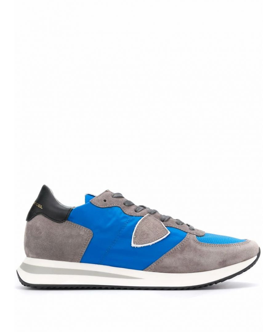 Image for PHILIPPE MODEL MEN'S TZLUW009 GREY LEATHER SNEAKERS