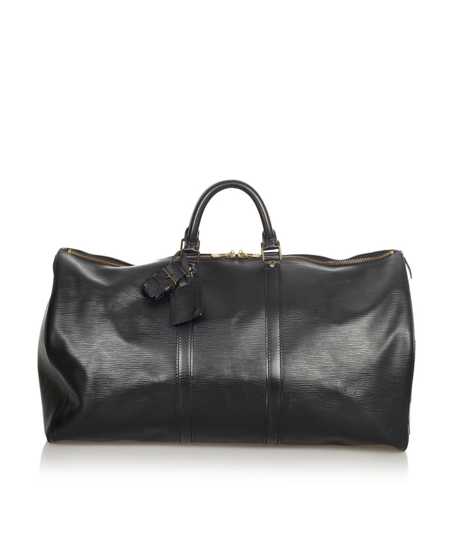 Image for Vintage Louis Vuitton Epi Keepall 55 Black