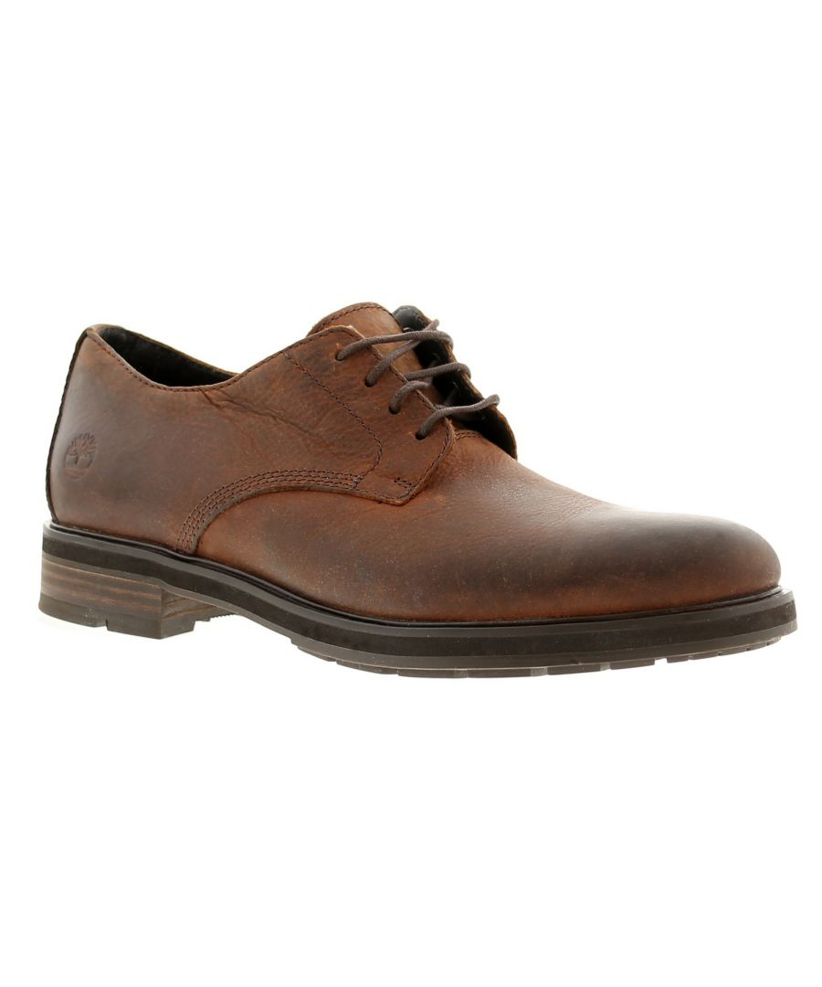 Image for Timberland windbucks oxford leather mens casual shoes brown