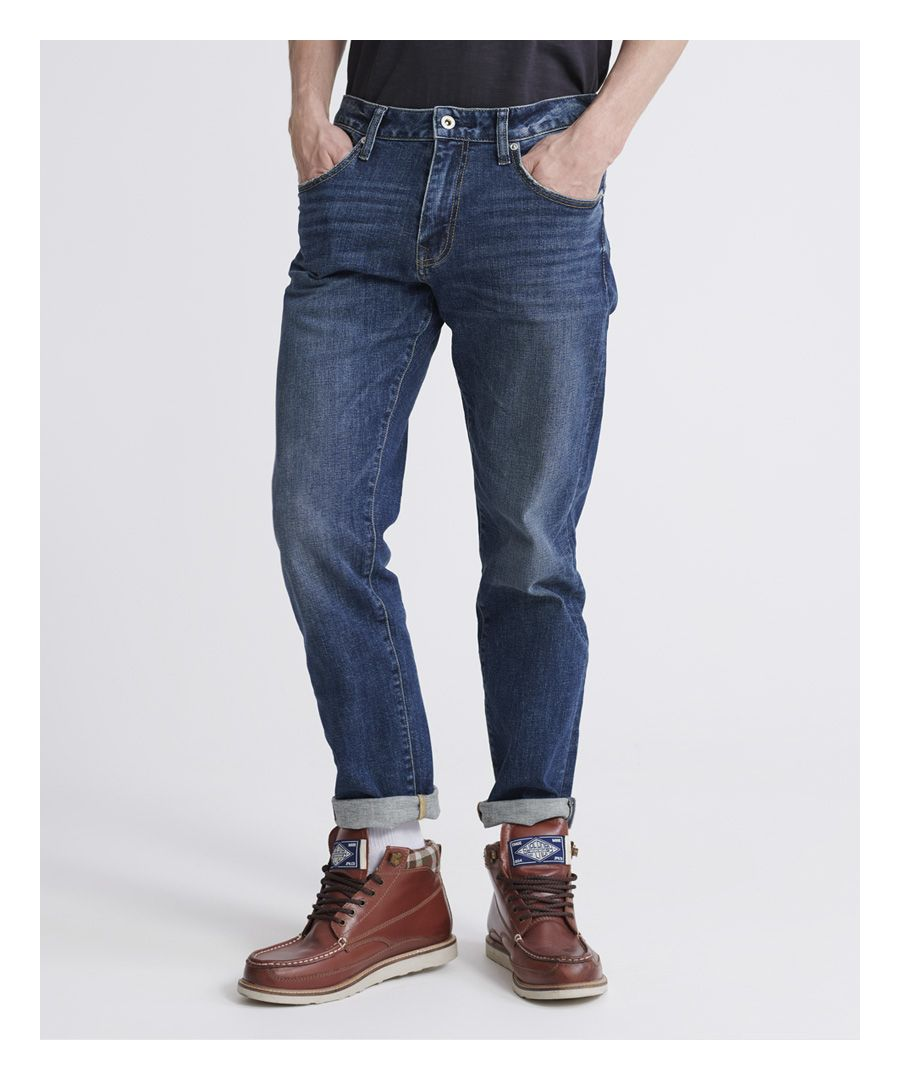 Image for Superdry 04 Daman Straight Jeans