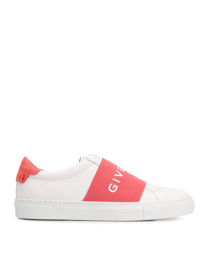 Image for GIVENCHY WOMEN'S BE0005E0EB171 WHITE LEATHER SLIP ON SNEAKERS