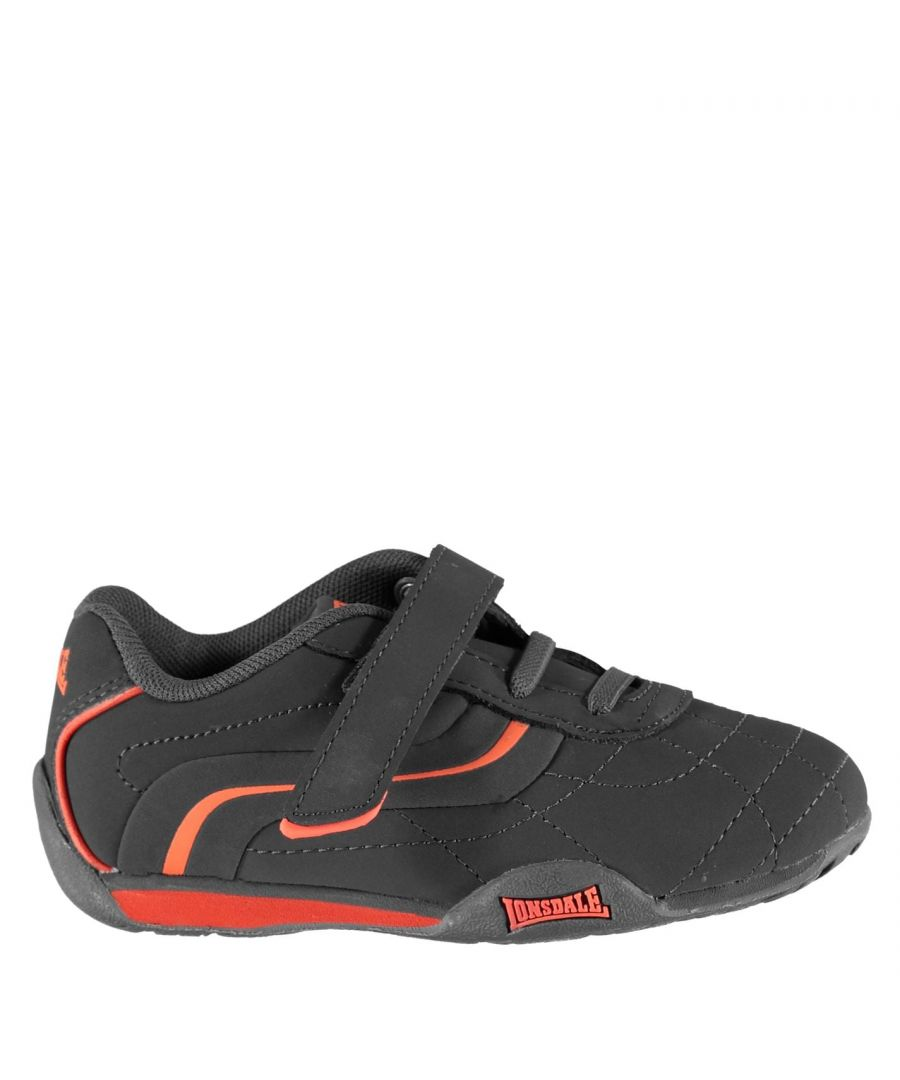 Image for Lonsdale Kids Camden Infant Boys Trainers Lace Up Casual Sports Shoes Footwear