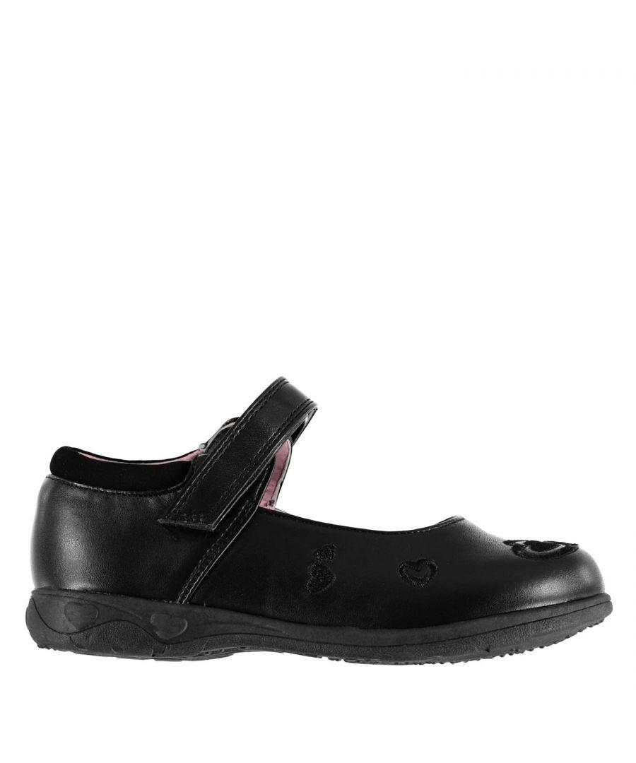 Image for Miss Fiori Kids F Shelly Em Girls Infants Children School Formal Shoes Footwear