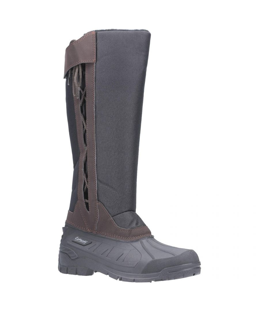 Image for Cotswold Womens Blockley Slip On Boot (Brown)