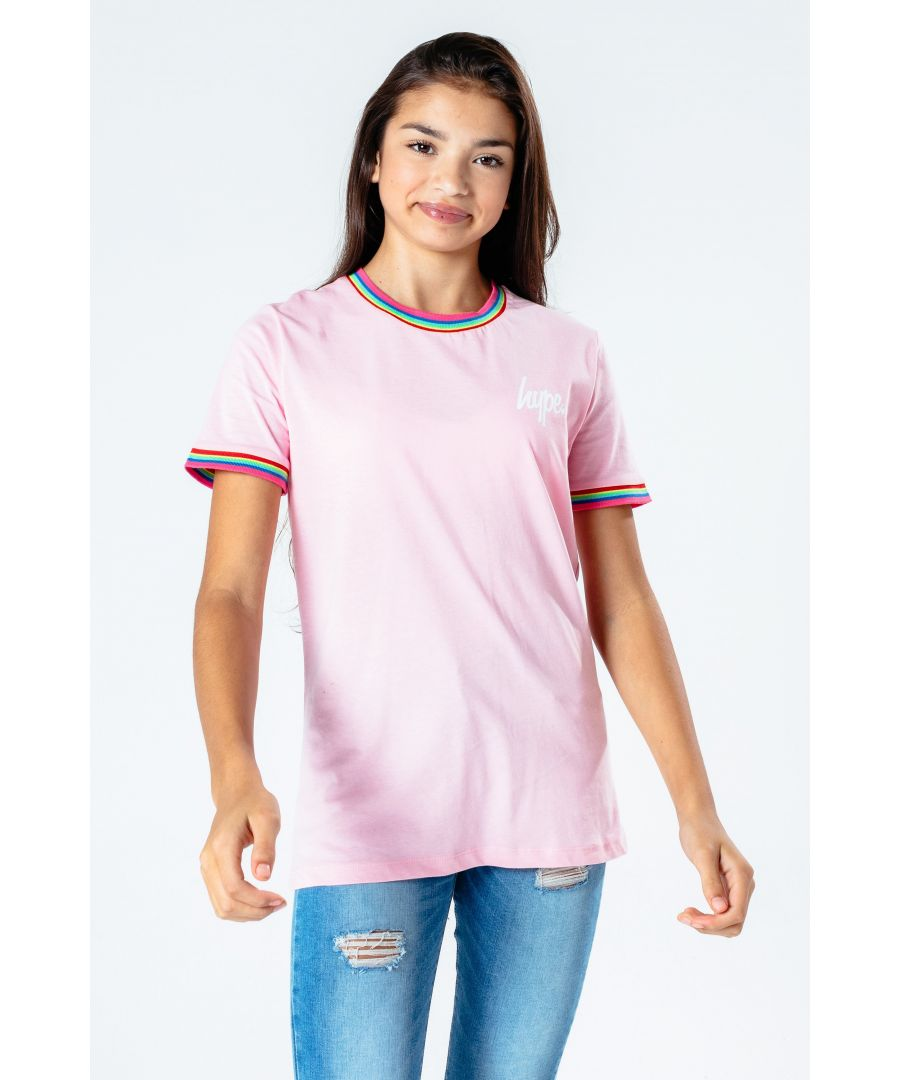 Image for Hype Rainbow Tape Kids T-Shirt