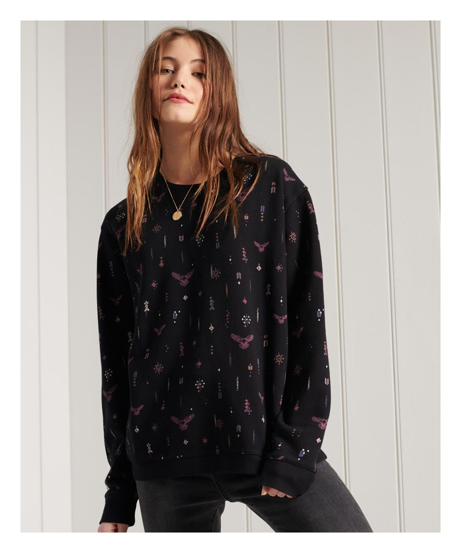 Image for Superdry Crafted Folk Crew Sweatshirt