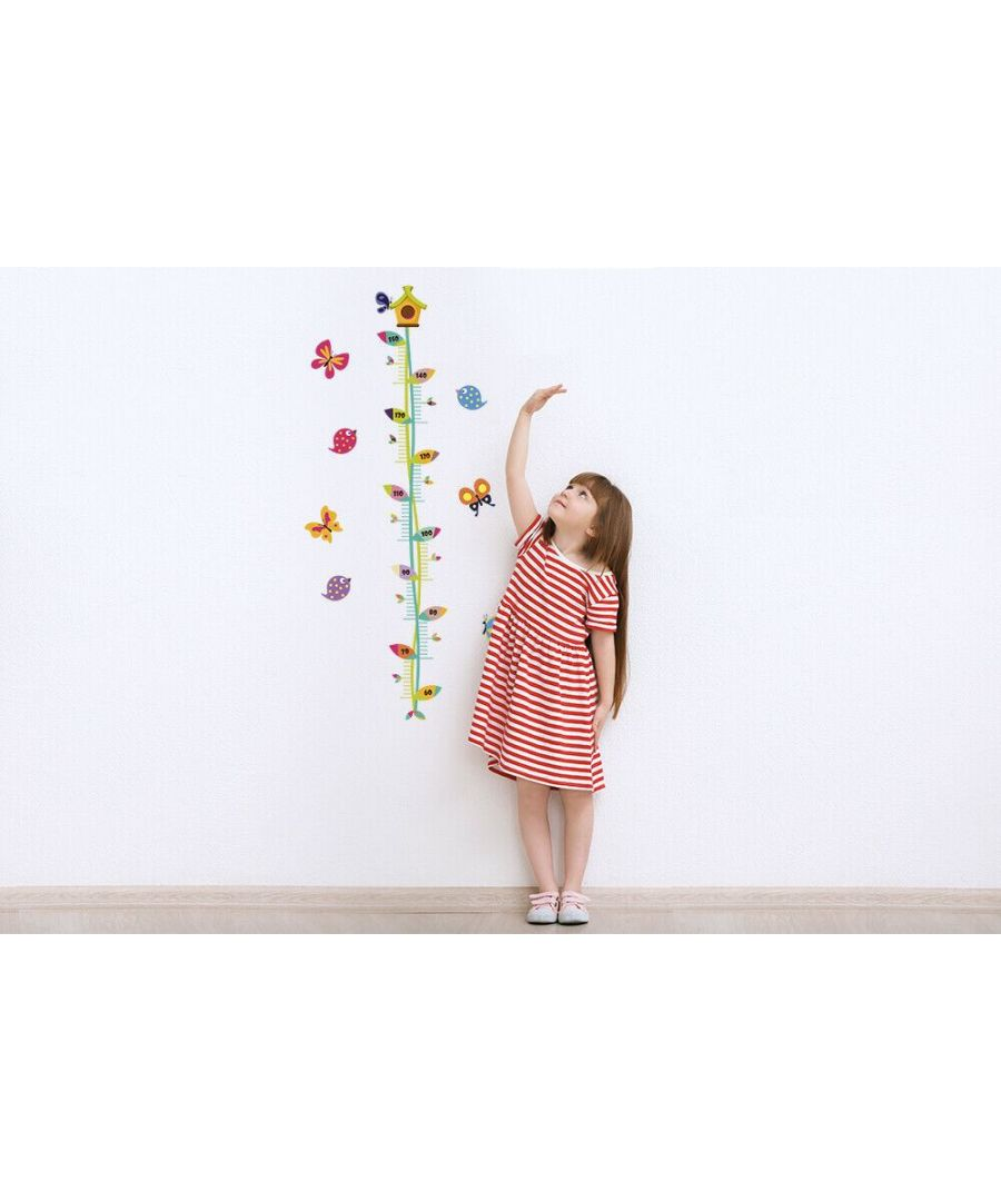 Image for Wall Art - Butterflies Height Chart Stickers