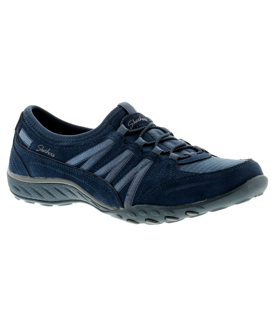 Image for Skechers Breathe Easy Moneybags Womens Flats Navy