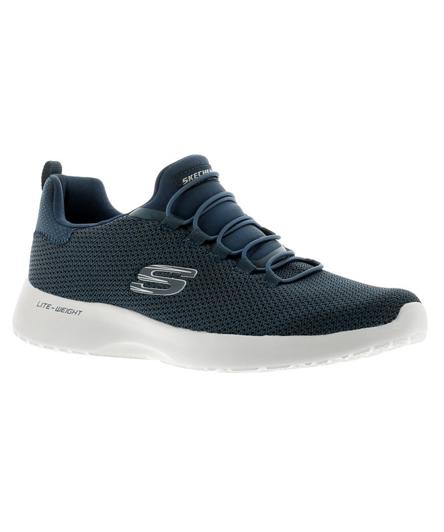 Image for Skechers Dynamight Mens Running Trainers Gym Shoes Navy
