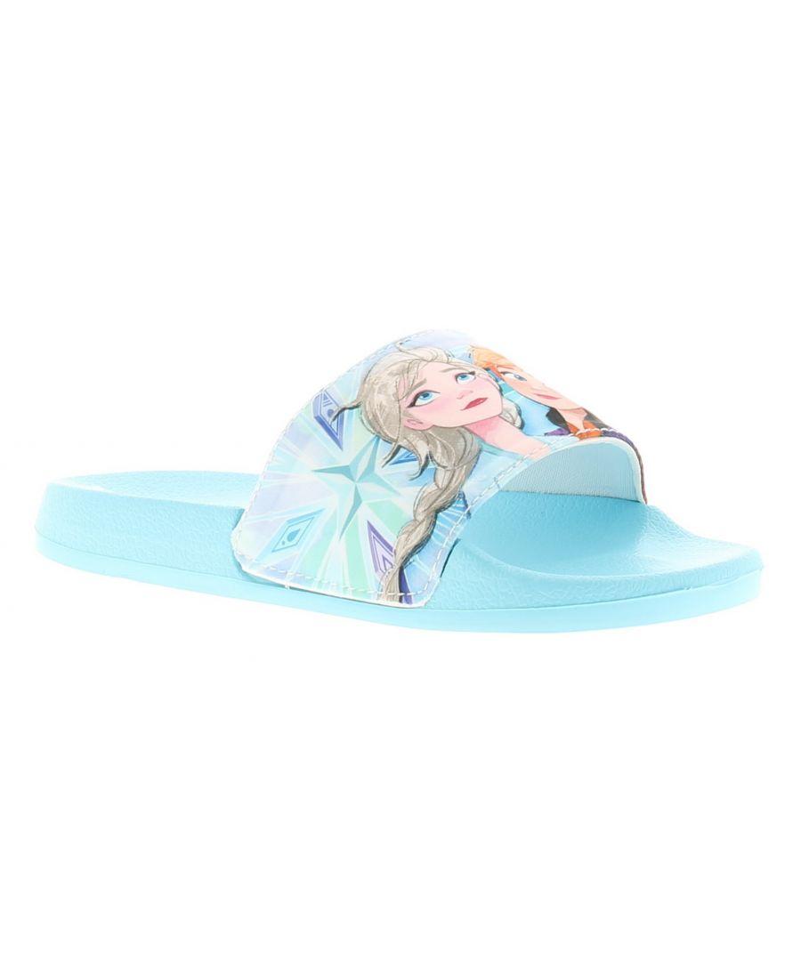 Image for Frozen ramita Younger Girls Sandals & Sliders blue