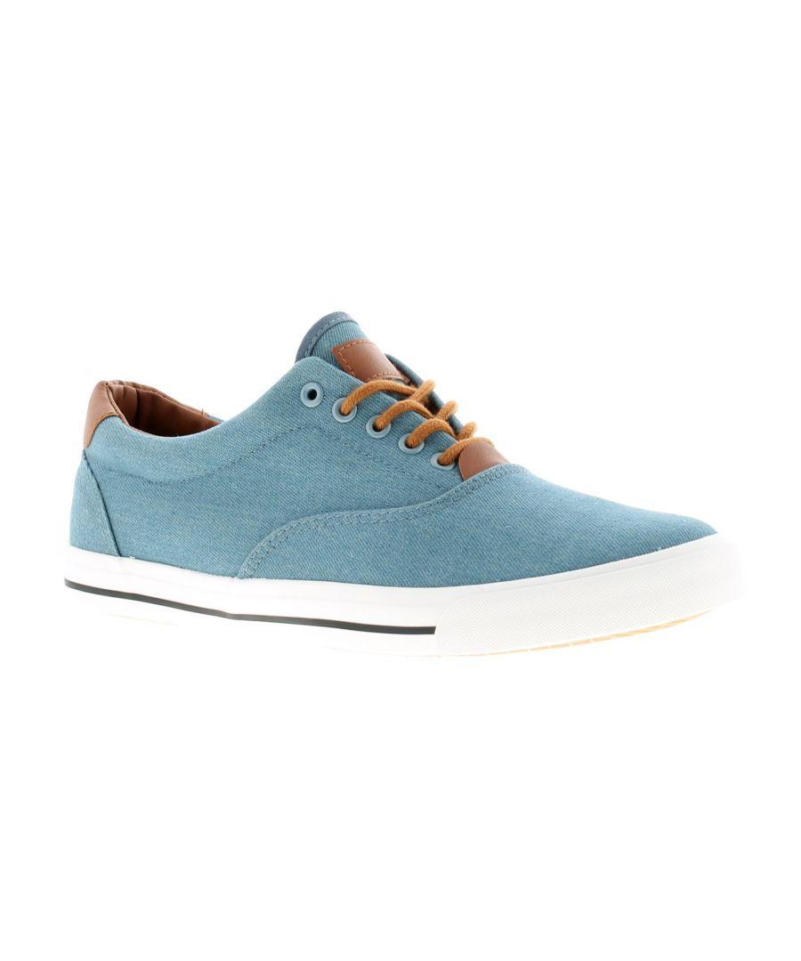 Image for Rockstorm clark Mens Canvas Shoes blue