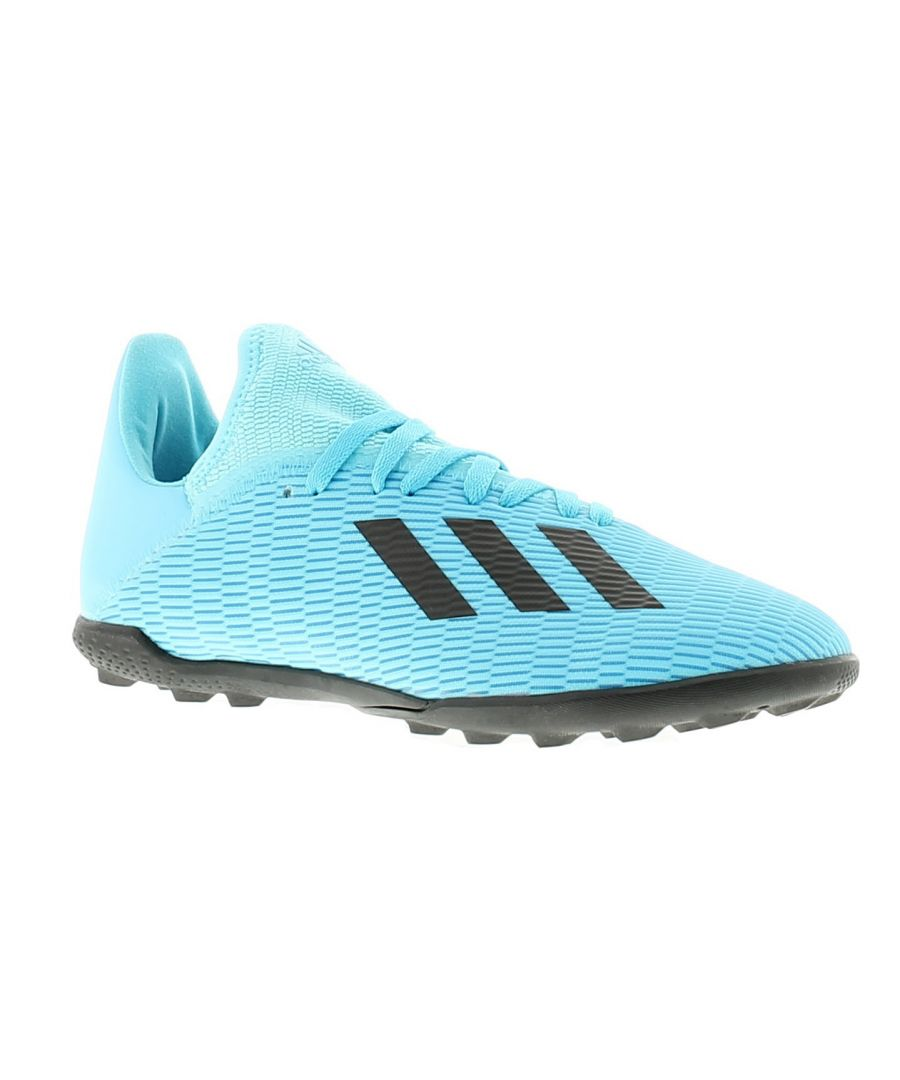 Image for Adidas Performance x19.3 tf j boys trainers blue