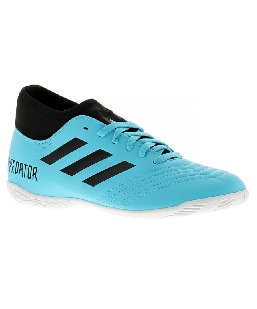 Image for Adidas Performance predator 19.4 s in j boys trainers blue
